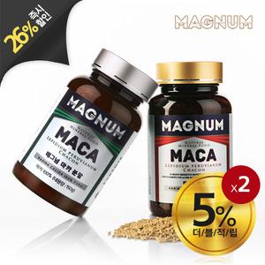 [남성건강식품 마카]매그넘마카 분말+과립 세트
